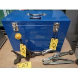 LOT STRAPPING TOOLS AND EQUIPMENT BOX
