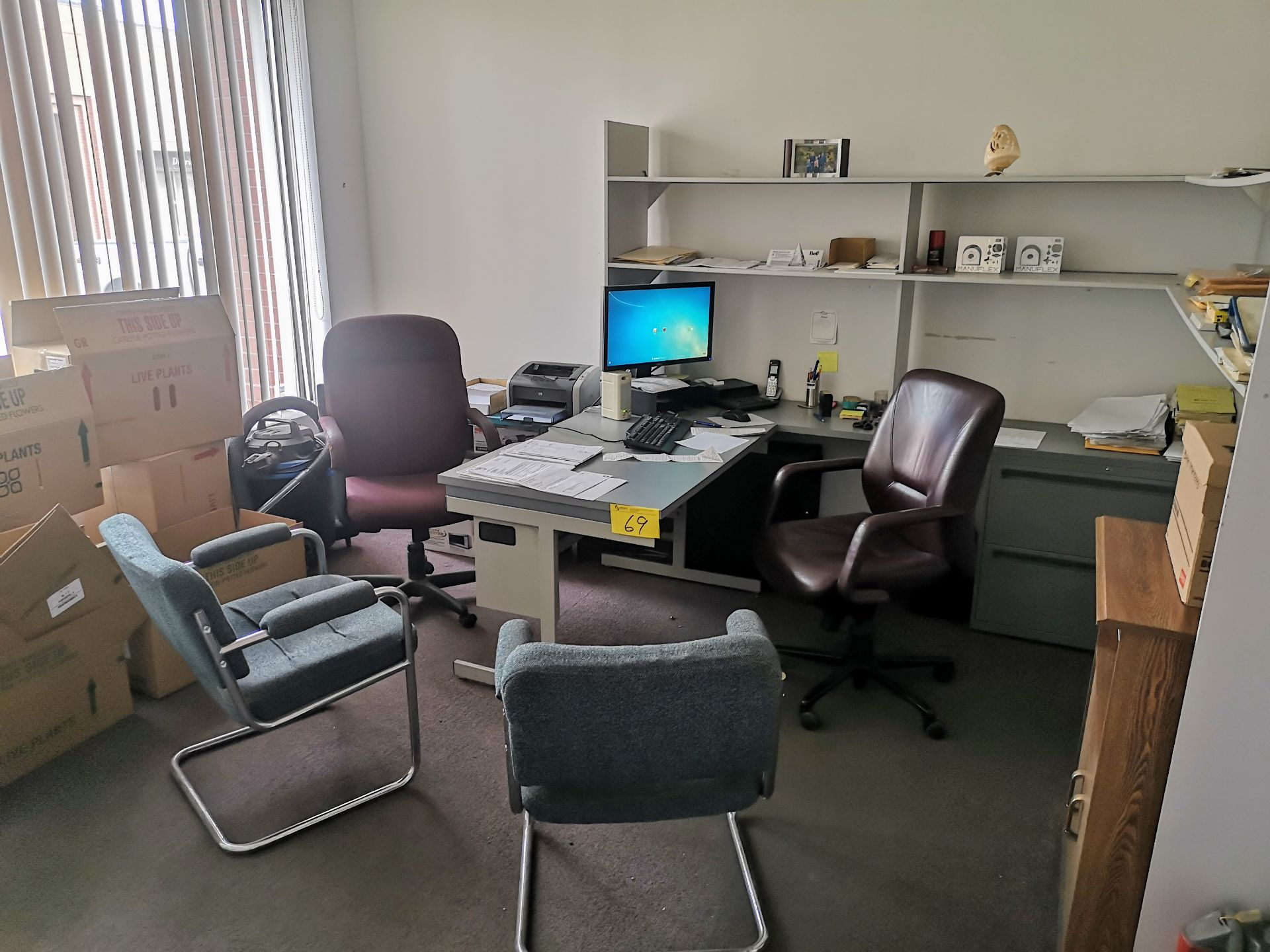 Lot 69 - LOT CONTENTS OF INNER OFFICE (NO PERSONAL EFFECTS OR COMPUTER EQUIPMENT)