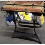 LOT (2) SAW STANDS