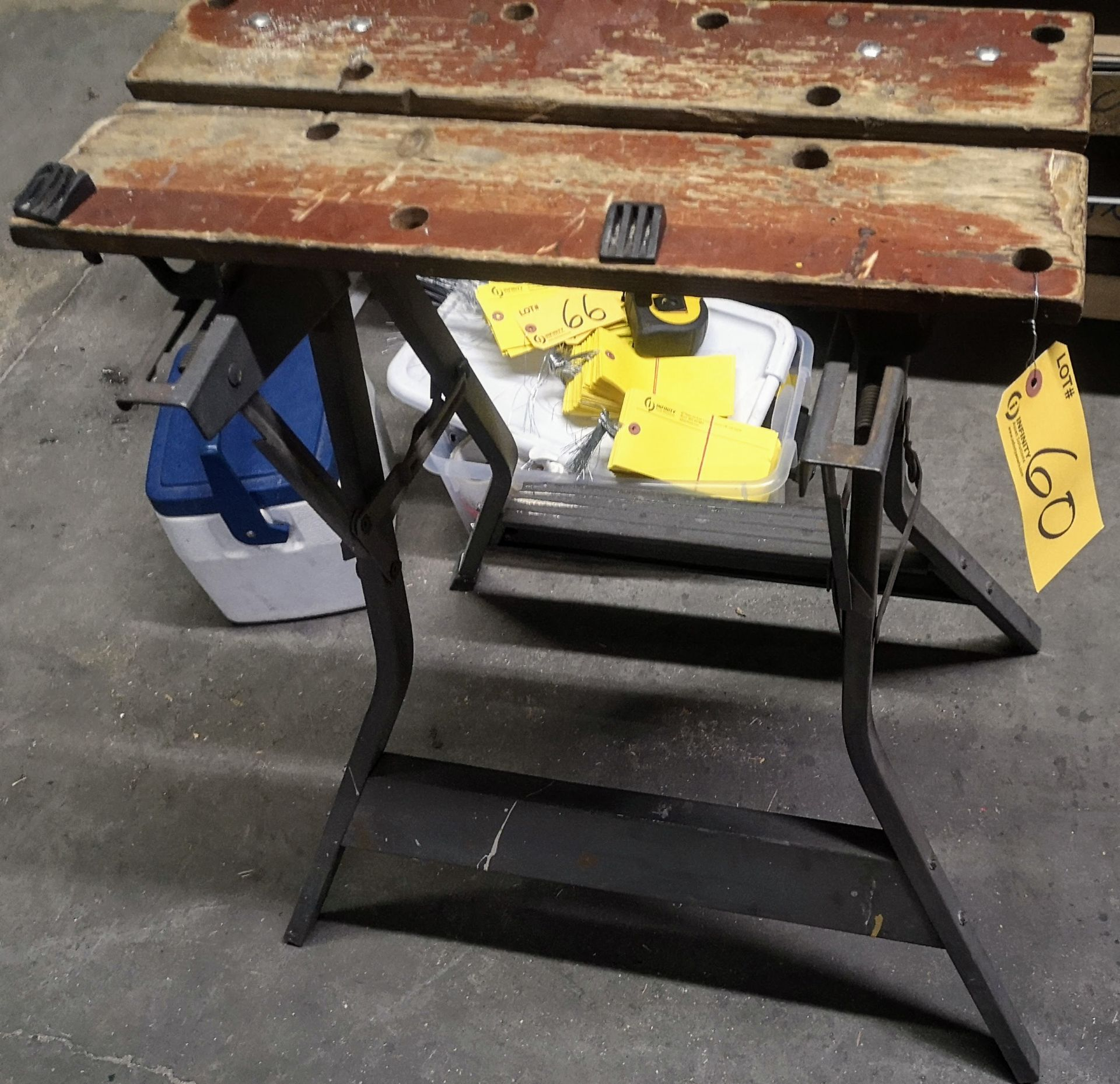 Lot 60 - LOT (2) SAW STANDS
