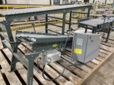 Assorted HYTROL box conveyors with electrical box. (P3)