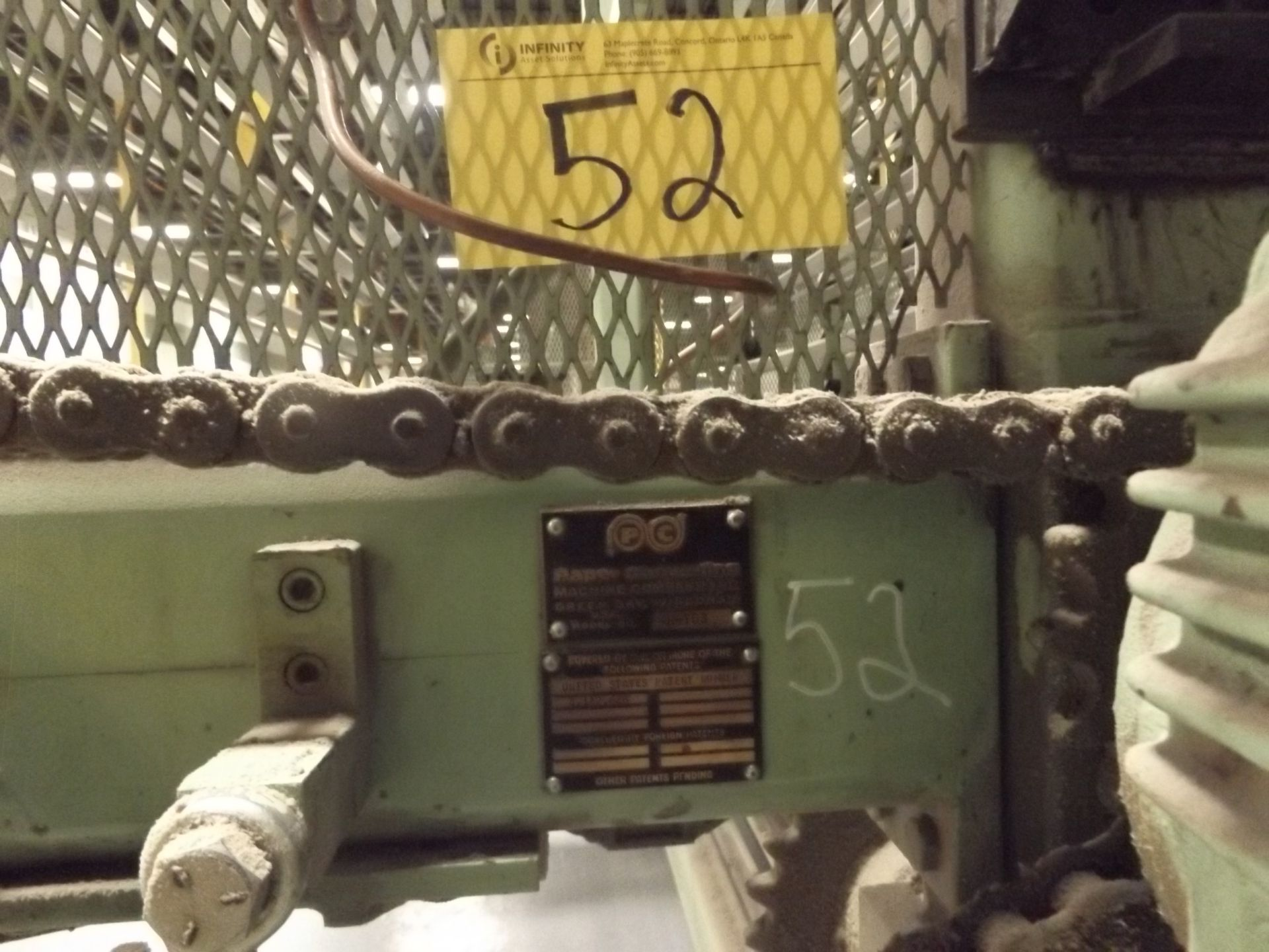 Lot 52 - 1988 PCMC log acumulator MODEL# R-763 (W4)