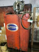 VINOCO LUBE STG. TANK W/AIR PUMP