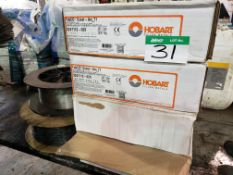 6 REELS OF WELDING WIRE (4 NEW)