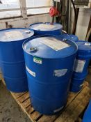3 DRUMS OF RANDO HDZ 22, 4 PAILS OF RANDO HDZ22, MANUAL PUMP