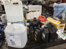 LOT OF ASST'D LUBRICANTS