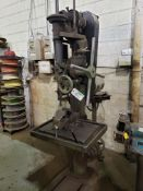 "CINCINNATI 21"" DRILL PRESS W/TABLE & VISE"