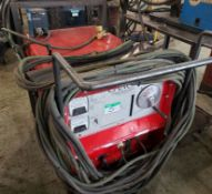CANOX C-CP-250 TS DC WELDER W/MILLER 22A FEEDER ON CART