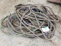 LOT OF ASST'D WELDING CABLE