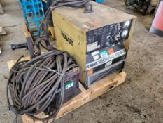 THERMAL ARC EXCEL-ARC 8065 CC/CV WELDER W/ THERMAL ARC 2410 WIRE FEEDER