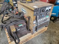 THERMAL ARC EXCEL-ARC 8065 CC/CV WELDER W/ THERMAL ARC 2410 WIRE FEEDER, 230/460/575