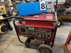 HONDA EM 6500 SX GAS GENERATOR