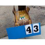 EXCAVATOR BUCKET FOR JD26G