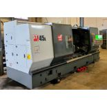 "2014 HAAS ST-45L CNC Lathe, s/n 3099310, SWING 34.5"" x 80"", 1400 RPM, 7"" SPINDLE BORE, 6 ½"" BAR"