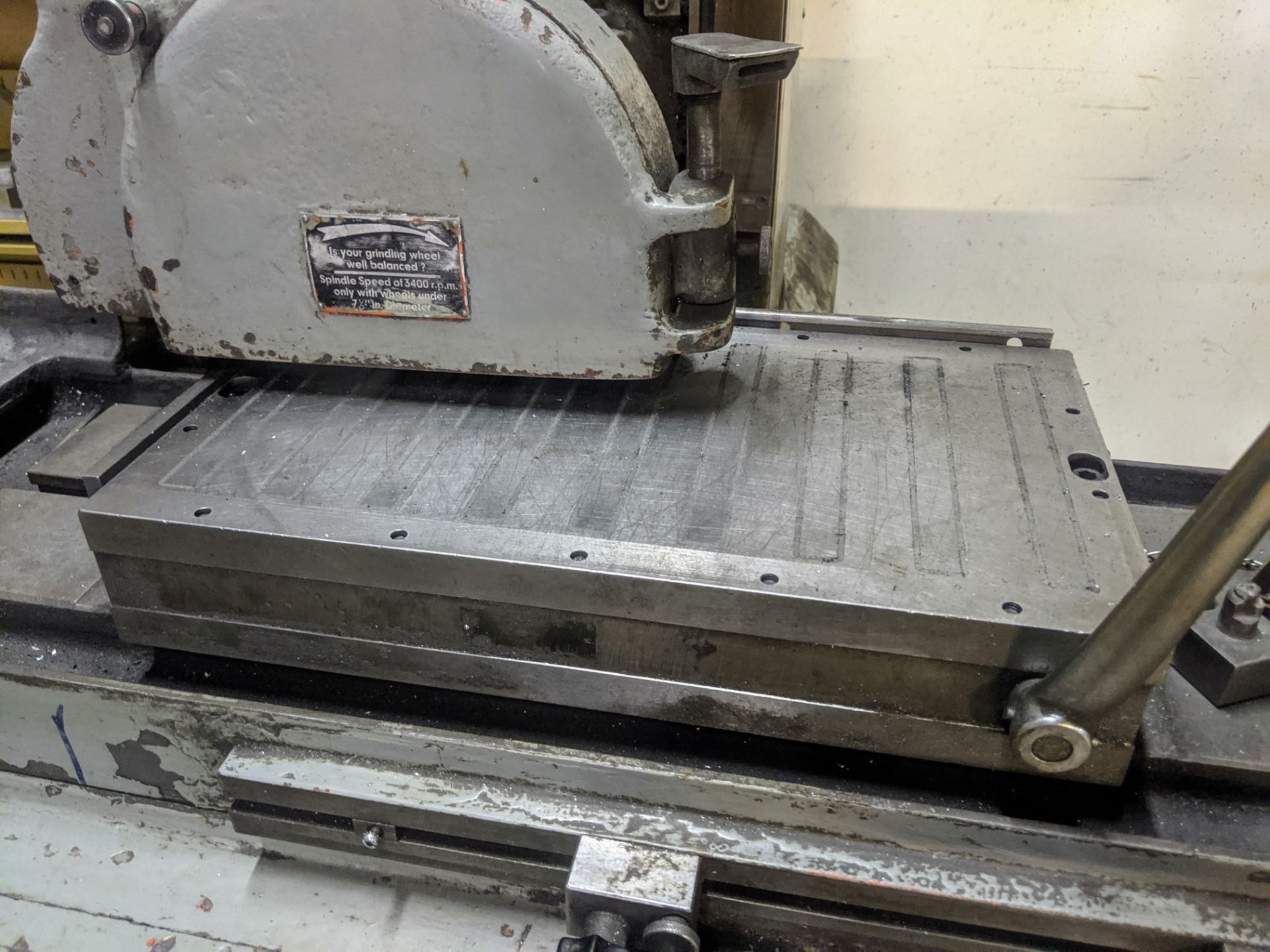 "Lot 41 - ELB SW4/5HA Surface Grinder, 10"" x 18"" Magnetic Chuck, s/n 17021059"