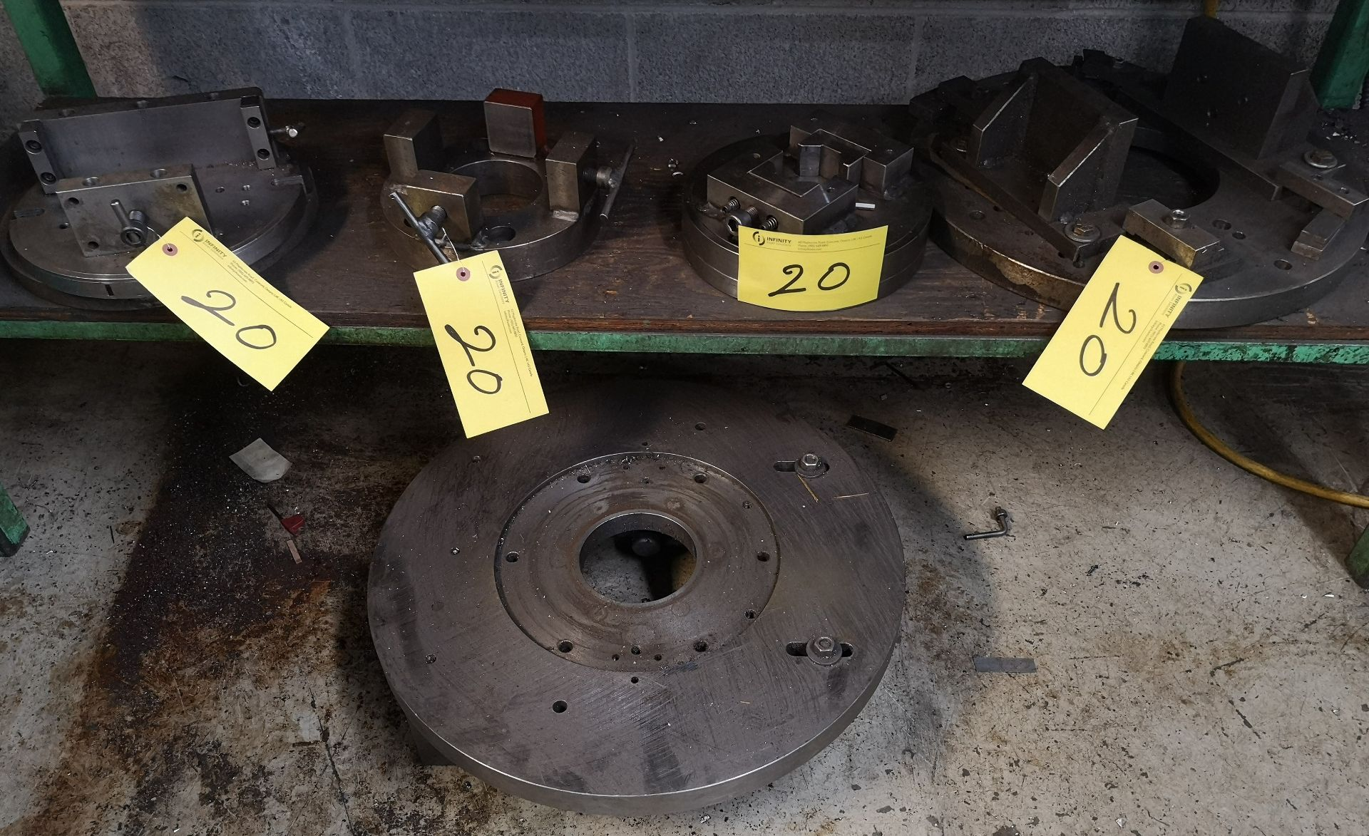 Lot 20 - LOT ASST. FACE PLATES AND STABILIZER