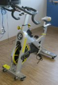 LIVESTRONG LS S-Series Class S Stationary Spin Bike, S/N: LASB0008303-111