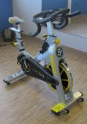 LIVESTRONG LS S-Series Class S Stationary Spin Bike, S/N: LASB0008041-111