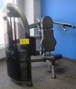 MATRIX G3-S20 Shoulder Press Machine - Weight Stack 200lbs, S/N: G3GM11CD1109GA015