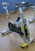 LIVESTRONG LS S-Series Class S Stationary Spin Bike, S/N: LASB0008035-111