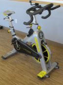 LIVESTRONG LS S-Series Class S Stationary Spin Bike, S/N: LASB0008039-111