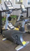 MATRIX U-3X/5X/7X Stationary Bike w/ HURE-3X-01-C Digital Dislay, Heart Rate Monitor