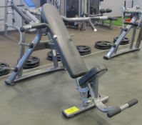 MATRIX Incline Bench Press Machine - Plate Loaded 10.5lbs Starting Resistance, S/N: