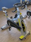 LIVESTRONG LS S-Series Class S Stationary Spin Bike, S/N: LASB0008037-111