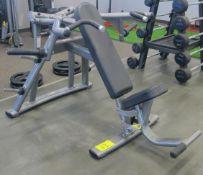 MATRIX Shoulder Press Machine - Plate Loaded 12lbs Starting Resistance, S/N: G3PL06D1110GA008
