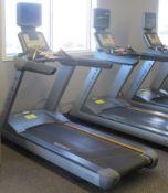 MATRIX T-5X-7X-03-F Ultimate Deck Treadmill w/ Incline, Digital Display, TV Screen w/ Satellite