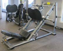 MATRIX MG-PL70 45-Degree Leg Press Machine - Plated Loaded 167lb Starting Resistancem, S/N:
