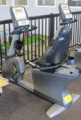 MATRIX R-3X/5X/7X Recumbent Bike w/ S-3X-01-C Digital Display, Heart Rate Monitor