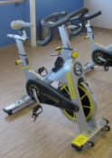 LIVESTRONG LS S-Series Class S Stationary Spin Bike, S/N: LASB0008304-111