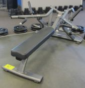 MATRIX Supine Bench Press Machine - Plate Loaded 10lbs Starting Resistance, S/N: G3PL02D1111CA041