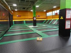 """Free for All Section consisting of"""" (27) 7' x 12' Long Mats, (14) 7' x 7' Long Incline Mats complete"""