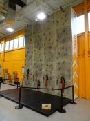 2017 Extreme Engineering Model: Stationary Climbing Wall 4 person capacity w/ 16' W x 20' H, (4)
