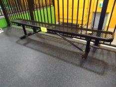 """Metal Bench 12"""" x 96""""L"""