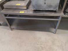 """48"""" X 30"""" X 23"""" STAINLESS STEEL TABLE"""