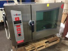 CLEVELAND MODEL OES-6.20 COMBINATION CONVECTION OVEN/STEAMER W/ SIMPLE TO OPERATE PROGRAMMABLE