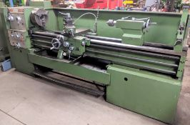 "PROSTAR 6250 LATHE, 20"" X 80"", 12"" 3-JAW CHUCK, 2.5"" BORE, TAILSTOCK, STEADY REST, TOOL POST, SPEEDS"