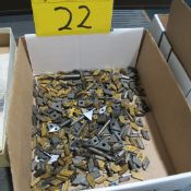 BOX OF CARBIDE CUTTING TIPS