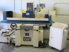 """2003 KENT KGS-84MS1 SURFACE GRINDER, 16"""" X 32"""" MAGNETIC SURFACE PLATE, MITUTOYO DRO, DIGITAL"""