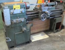 PSG A141 LATHE, DOUBLE SPEED, TAILSTOCK, 3-JAW CHUCK