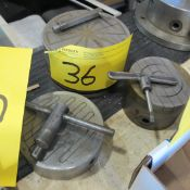"""LOT OF (3) MAGNETIC CHUCKS (6"""", 5"""" AND 4"""")"""