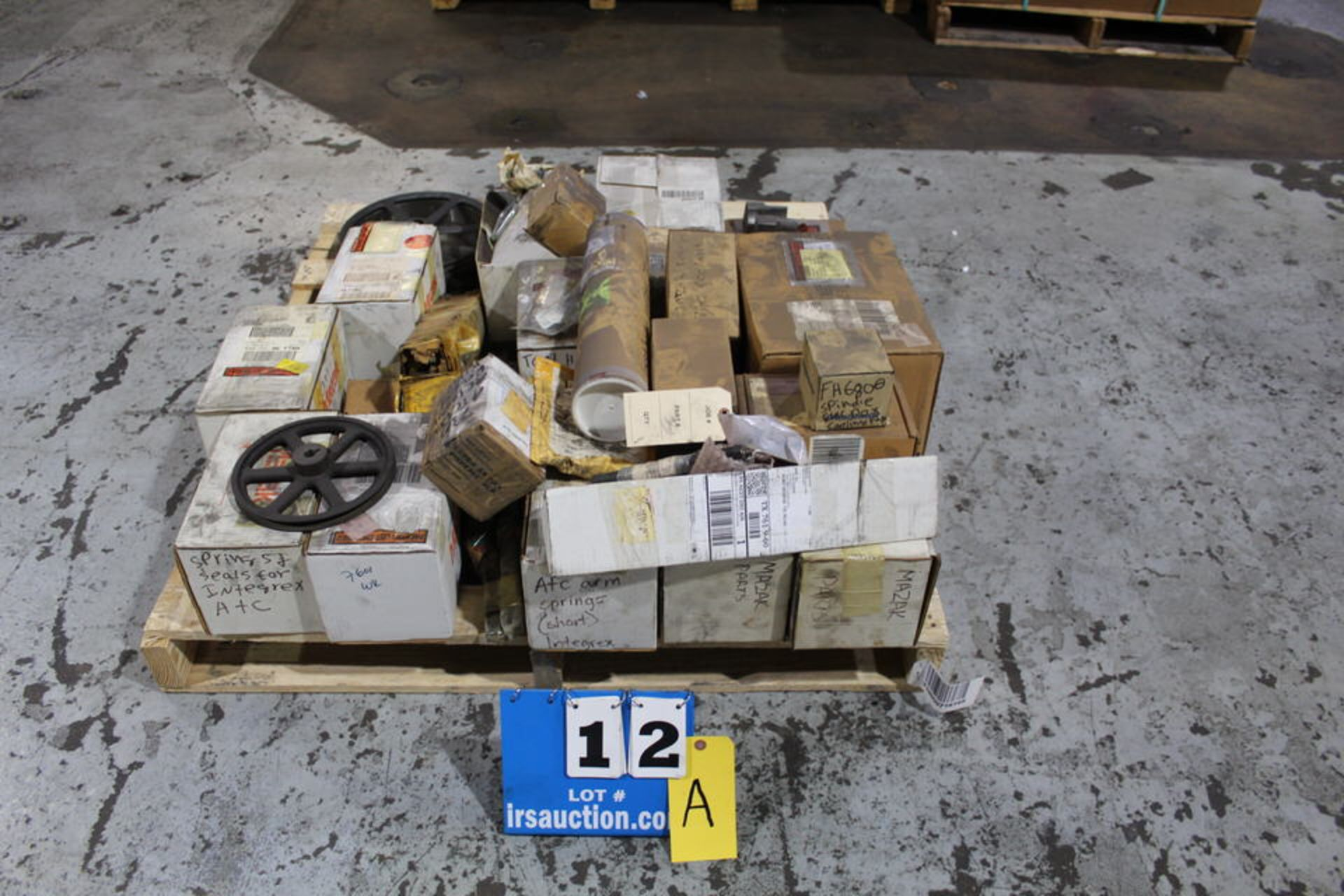Lot 12A - ASST MAZAK REPLACEMENT PARTS