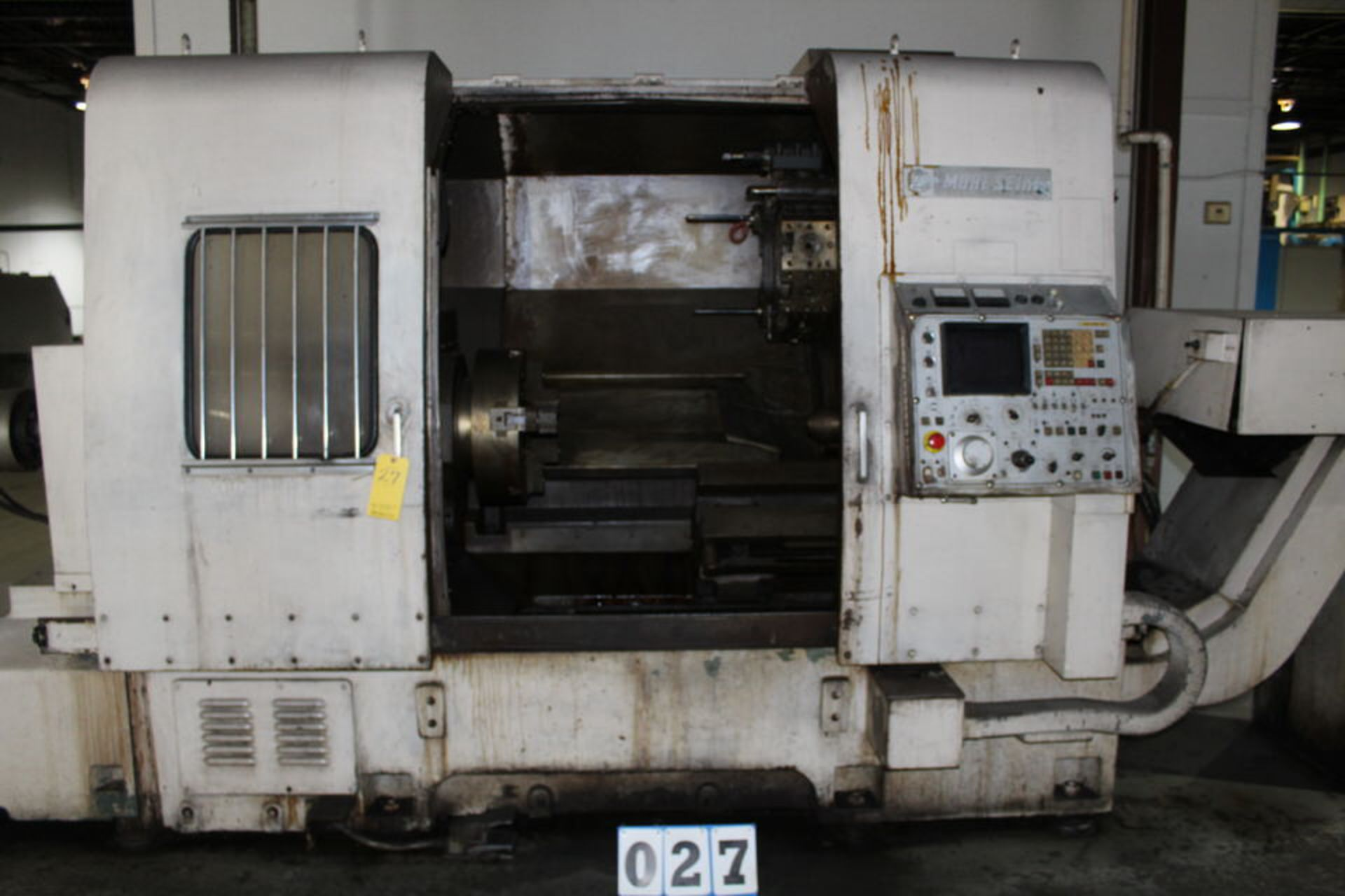 Lot 27 - MORI SEIKI SL-6 CNC LATHE W/ FANUC SYSTEM 6T CONTROL W/ TOOLING