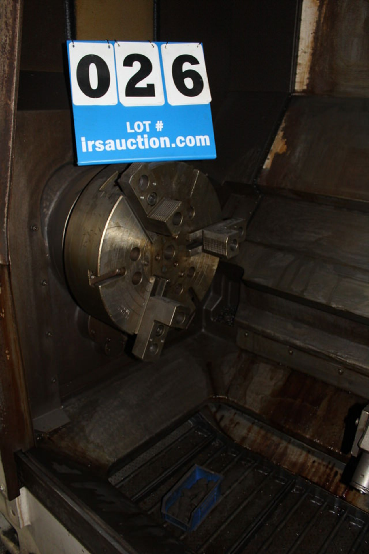 Lot 26 - MORI SEIKI SL-6 CNC LATHE W/ FANUC SYSTEM 6T CONTROL W/ TOOLING