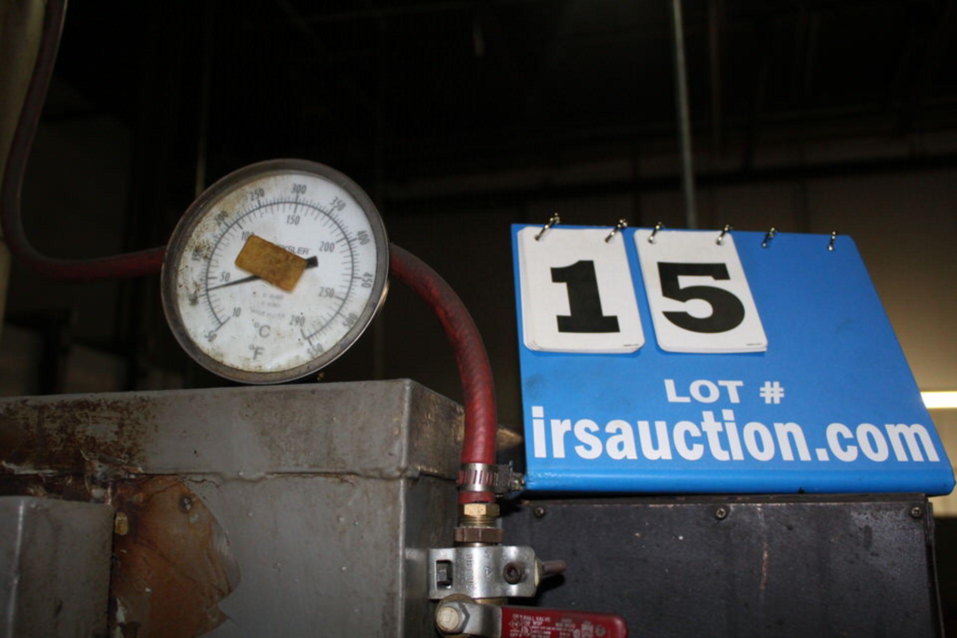 Lot 15 - INDUSTRIAL & LABRATOR BATCH OVEN, MDL: TA500
