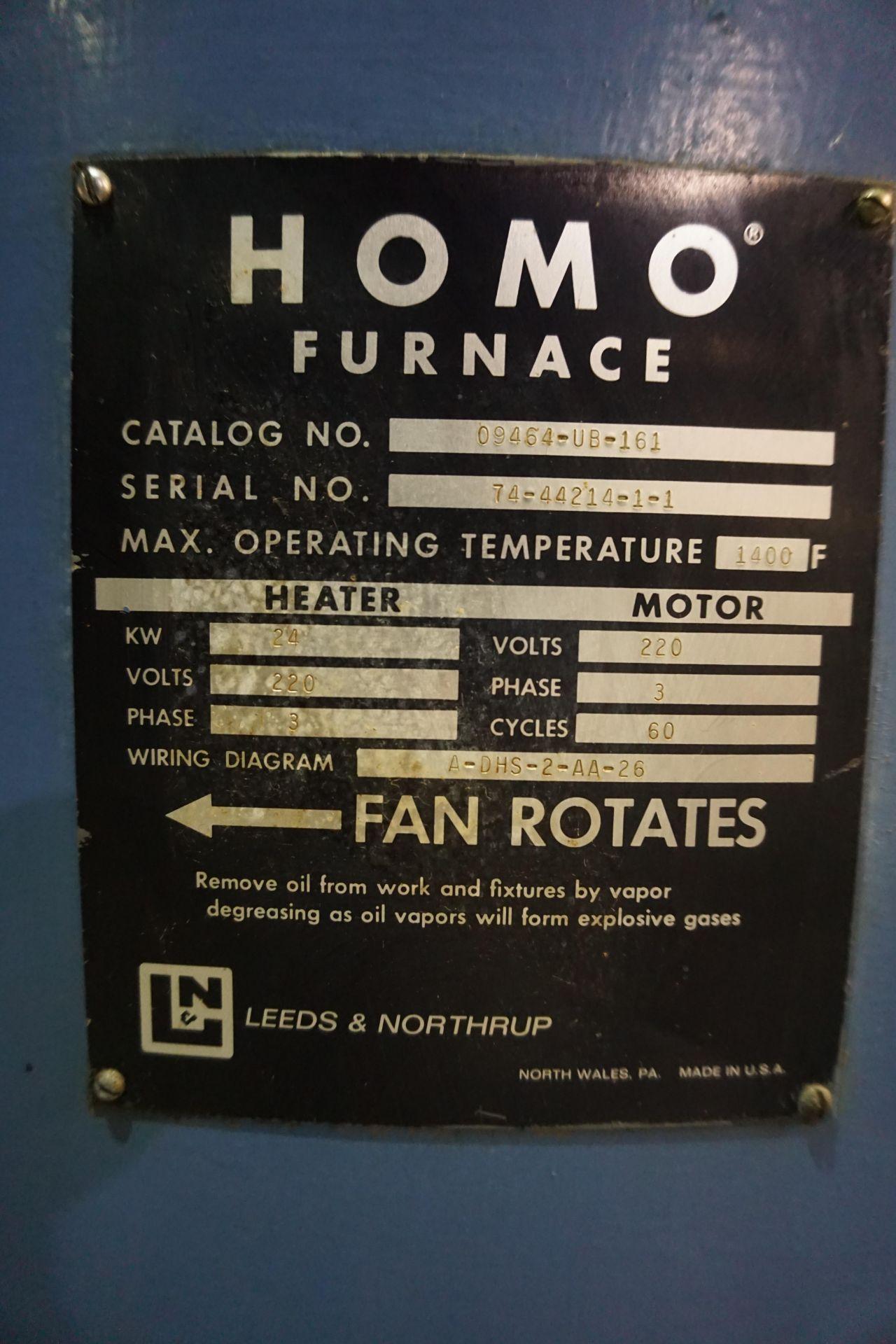 Lot 16 - HOMO FURNACE MDL: 09464-UB-161