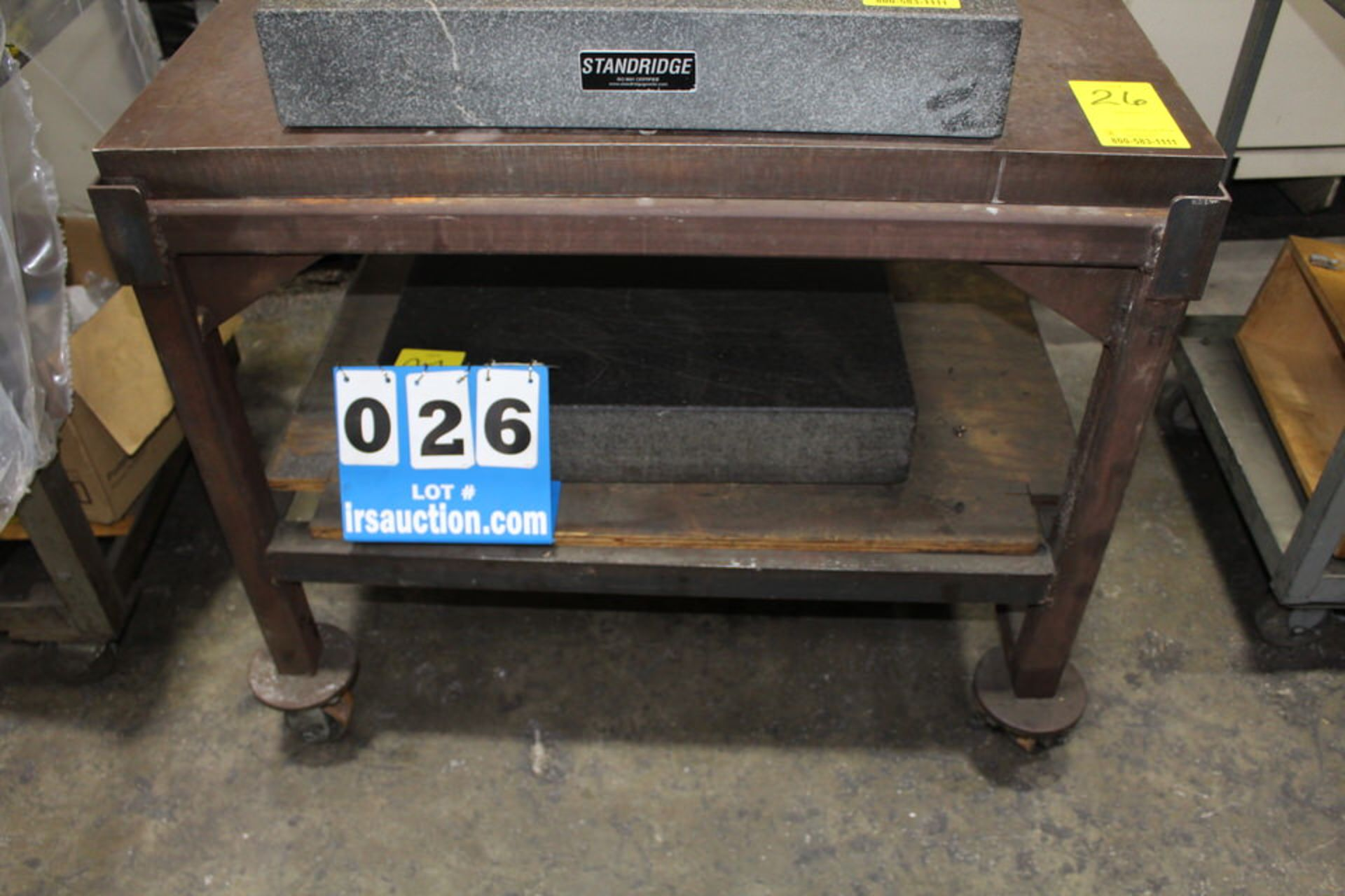 "Lot 26 - 30"" X 38"" METAL SURFACE PLATE"